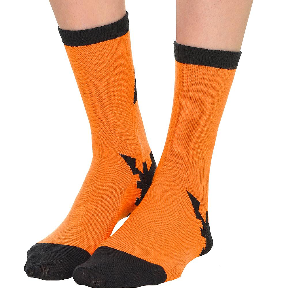 Jack-O-Lantern Crew Socks Image #3