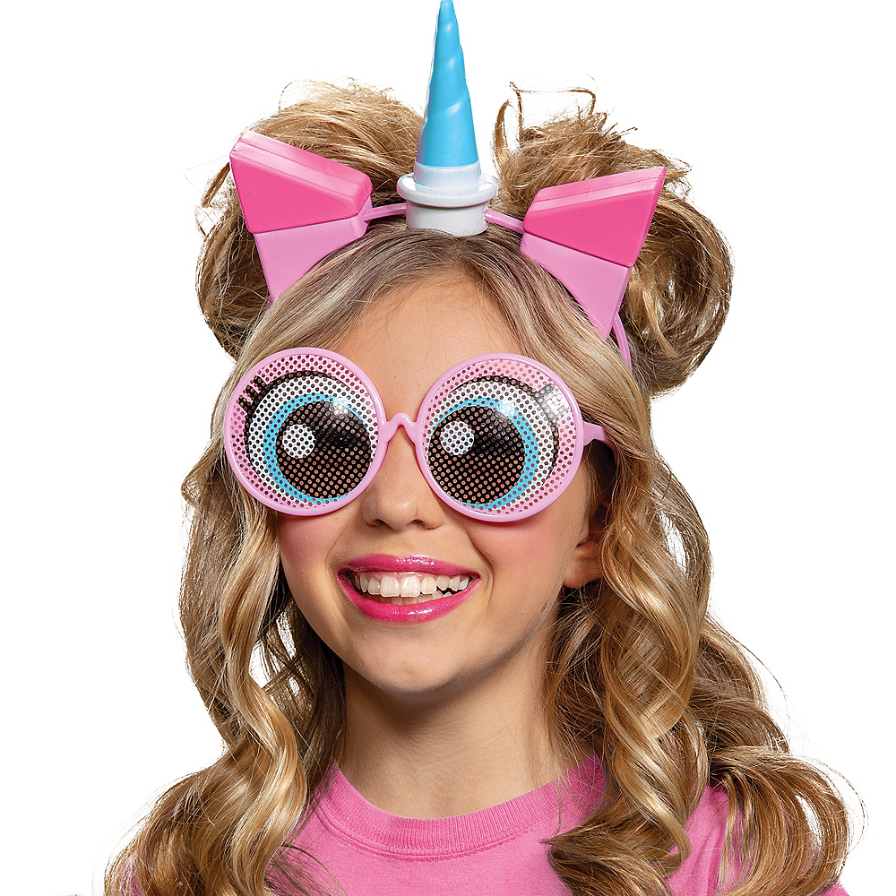 Child Unikitty Ears and Glasses Kit - LEGO Movie 2 Image #1