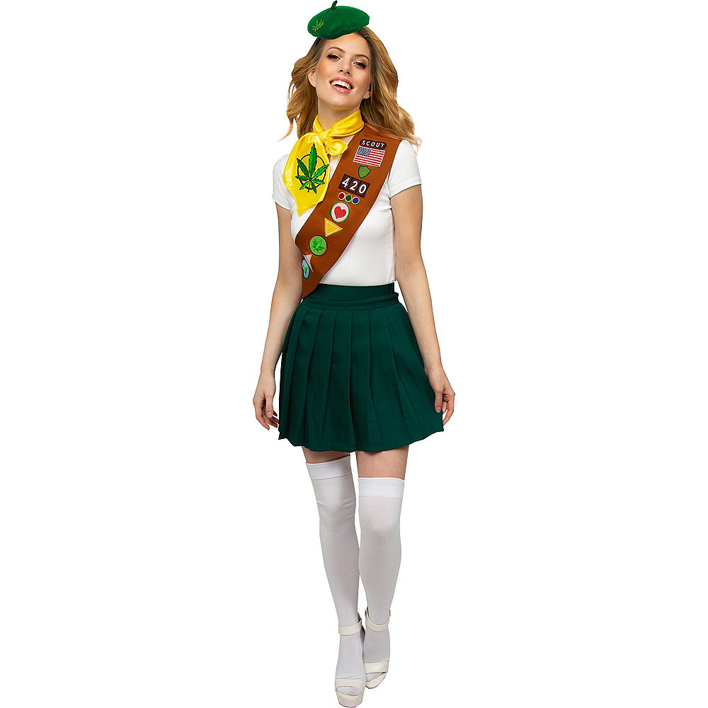 Adult Pot Brownie Scout Costume Accessory Kit Image #1