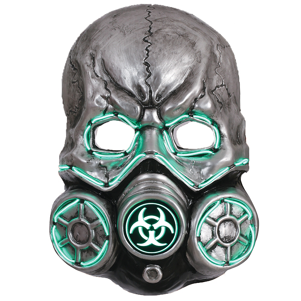 Light-Up Gas Mask Image #1