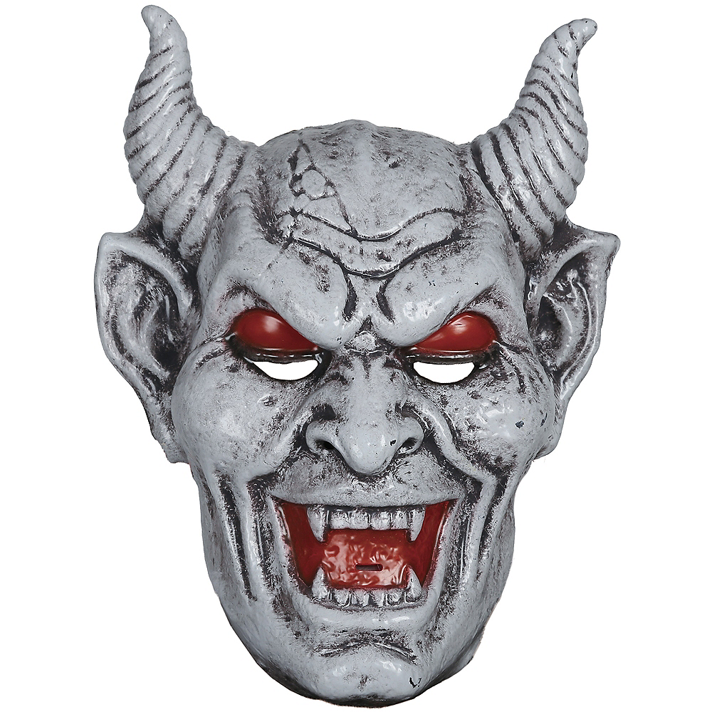 Light-Up Nightmare Gargoyle Mask Image #1