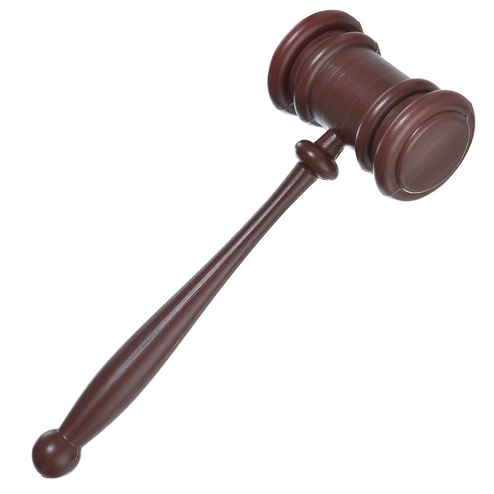 Dark Brown Judge Gavel Prop Image #1