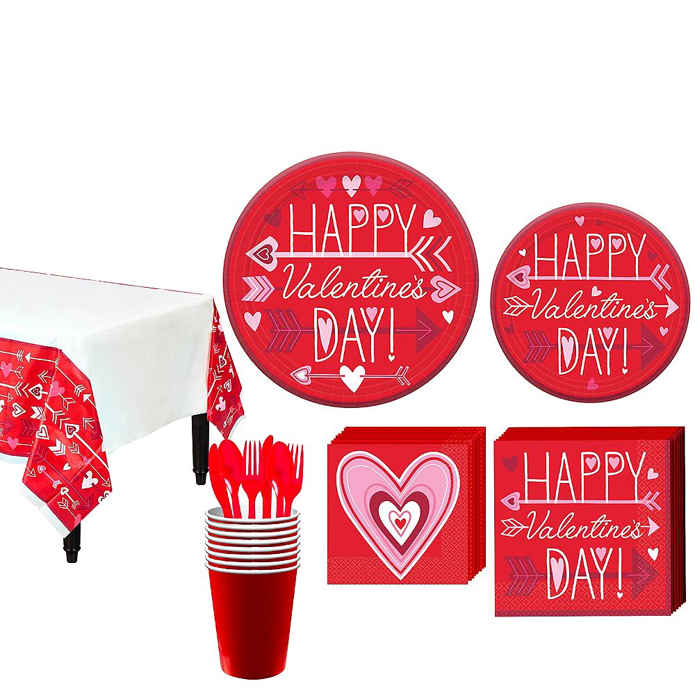 Valentine Wish Tableware Kit for 18 Image #1