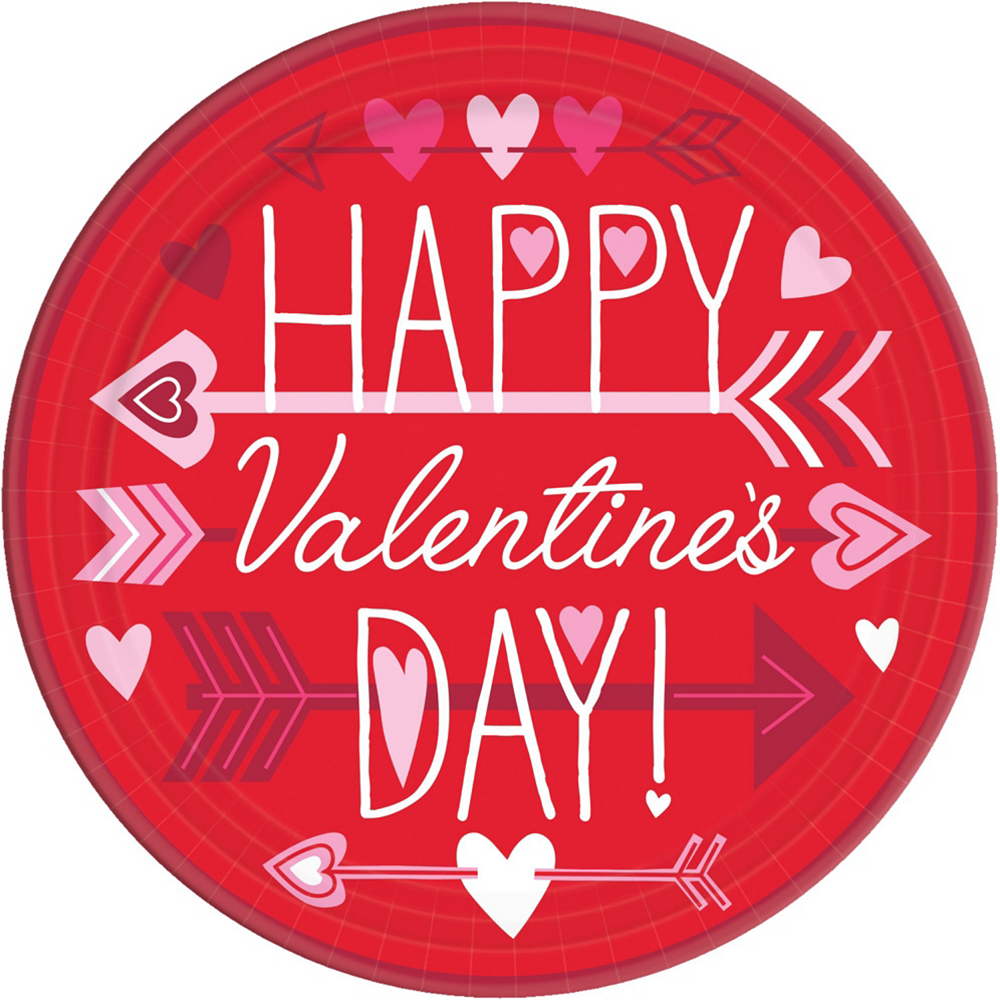 Valentine Wish Tableware Kit for 18 Image #2