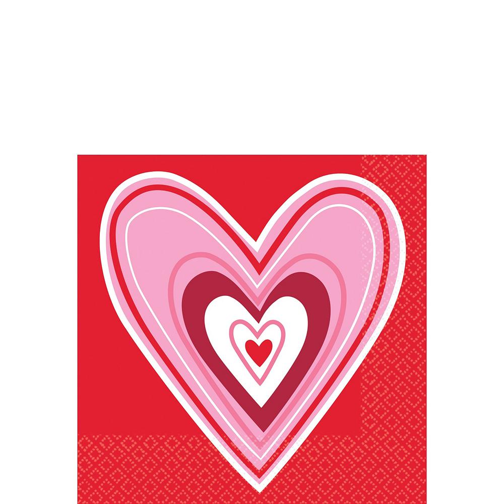 Valentine Wish Tableware Kit for 18 Image #5