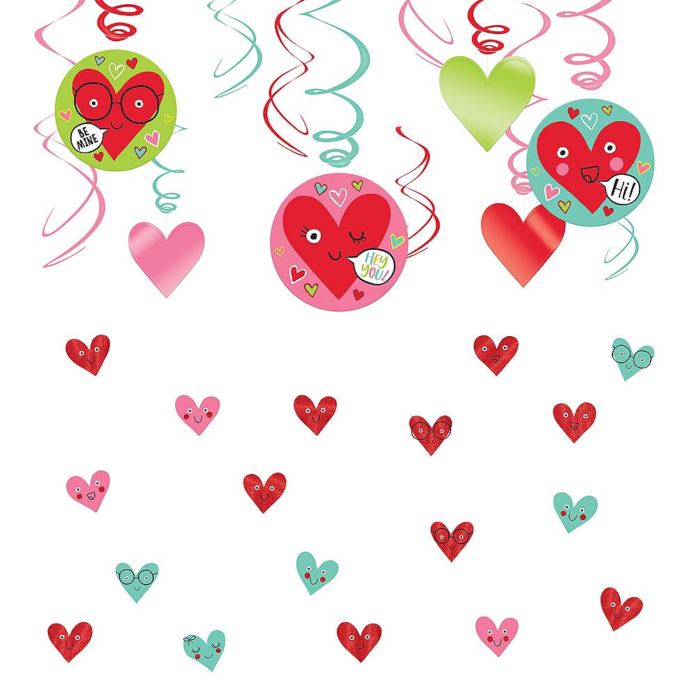Heart Face Decorating Kit Image #1
