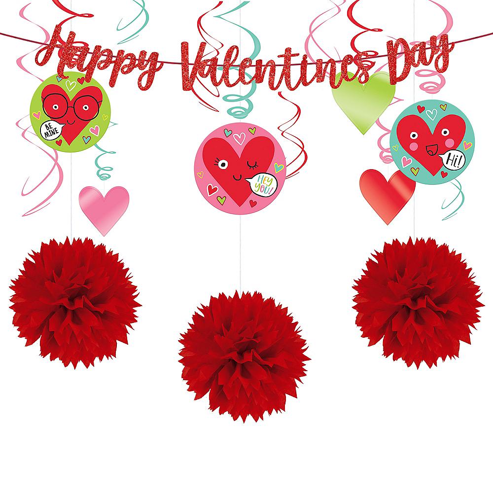 Valentine's Day Smiley Decorating Kit Image #1