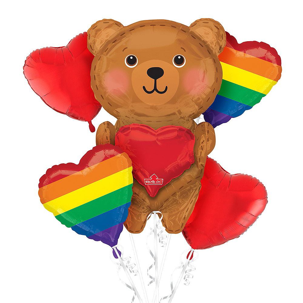 Valentine's Day Pride Balloon Kit Image #1