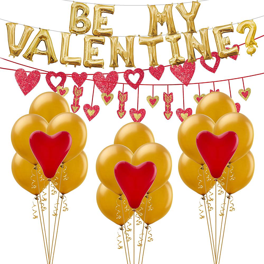 Be My Valentine Balloon Kit Image #1