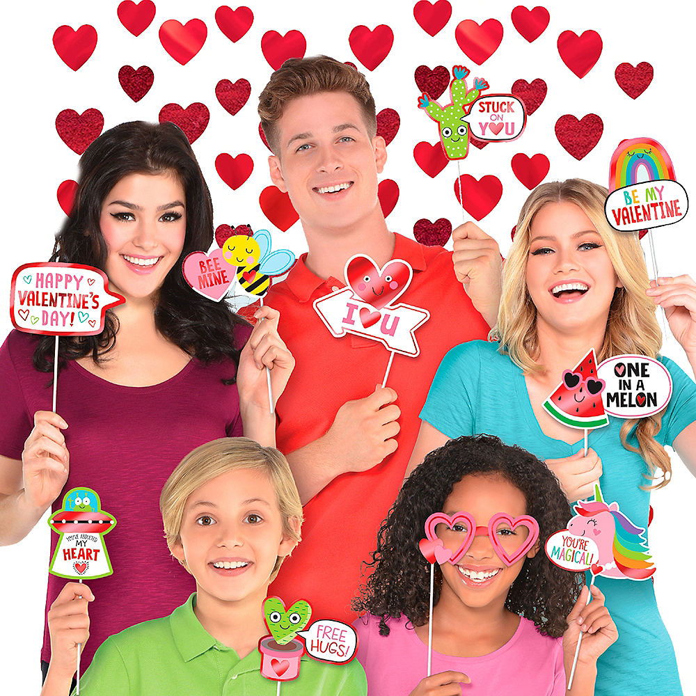 Valentine's Day Photo Booth Kit Image #1