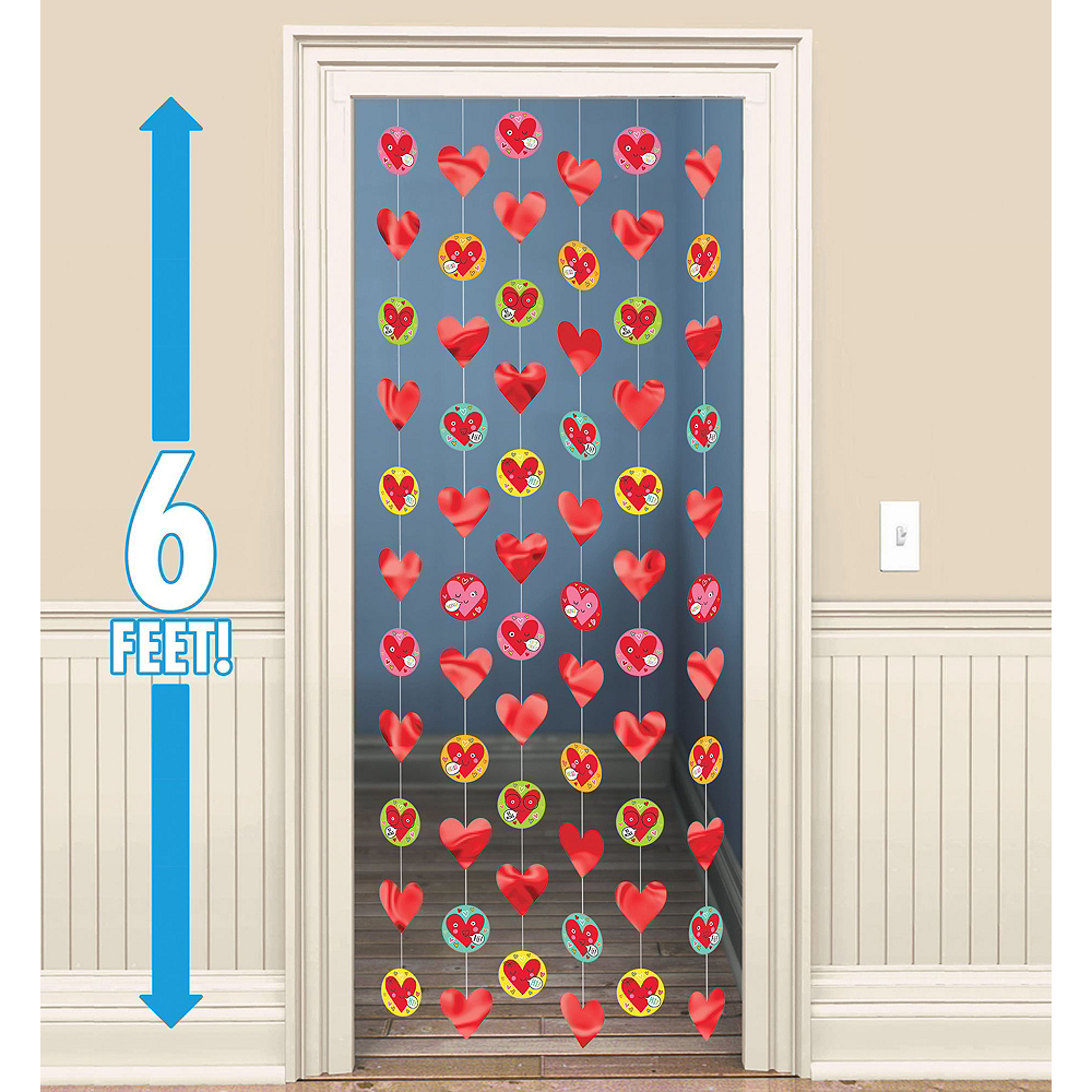 Heart Face Valentine's Day Classroom Decorating Kit Image #3