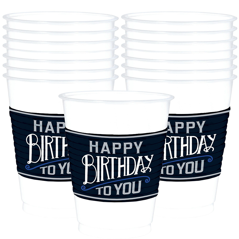 Vintage Happy Birthday 30th Birthday Party Kit for 16 Guests Image #6