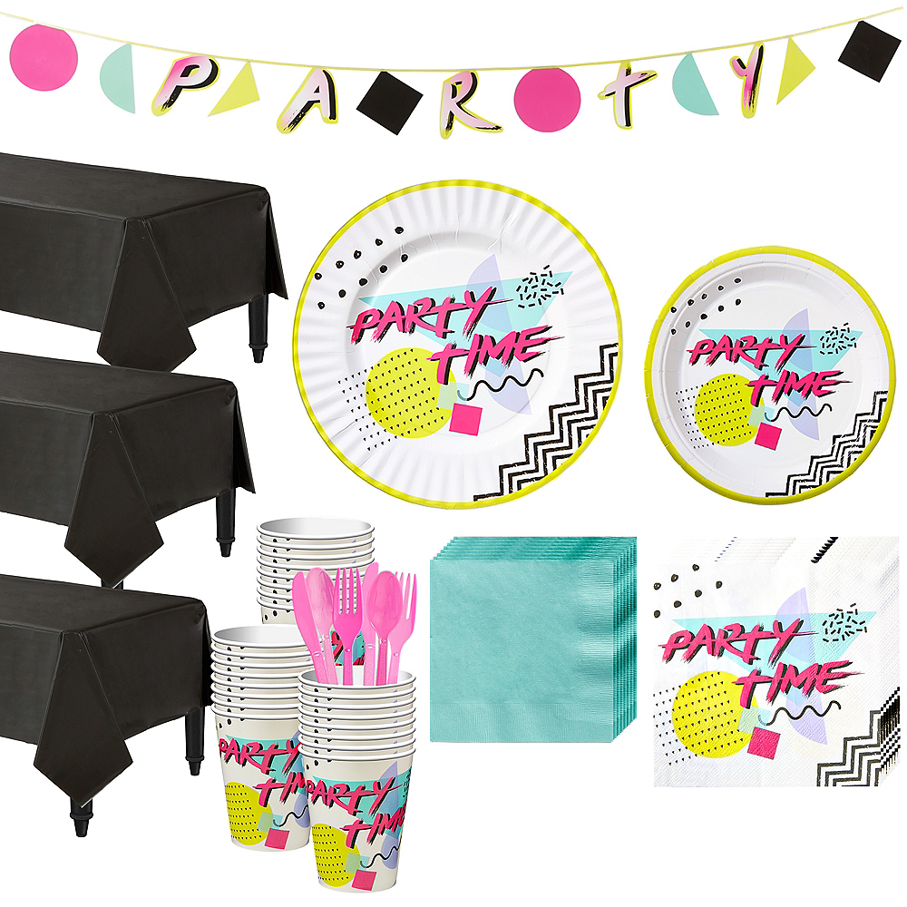 90s Party Kit for 24 Guests Image #1