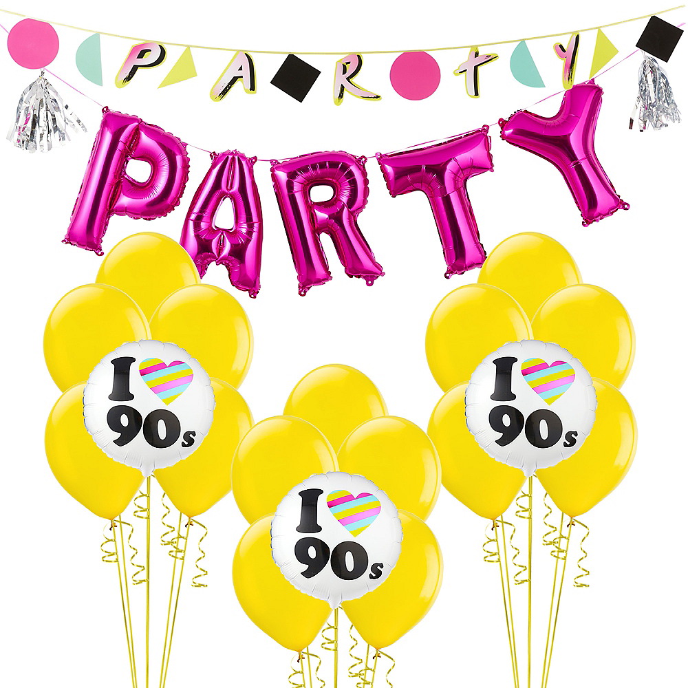 90s Party Decorating Kit Image #1