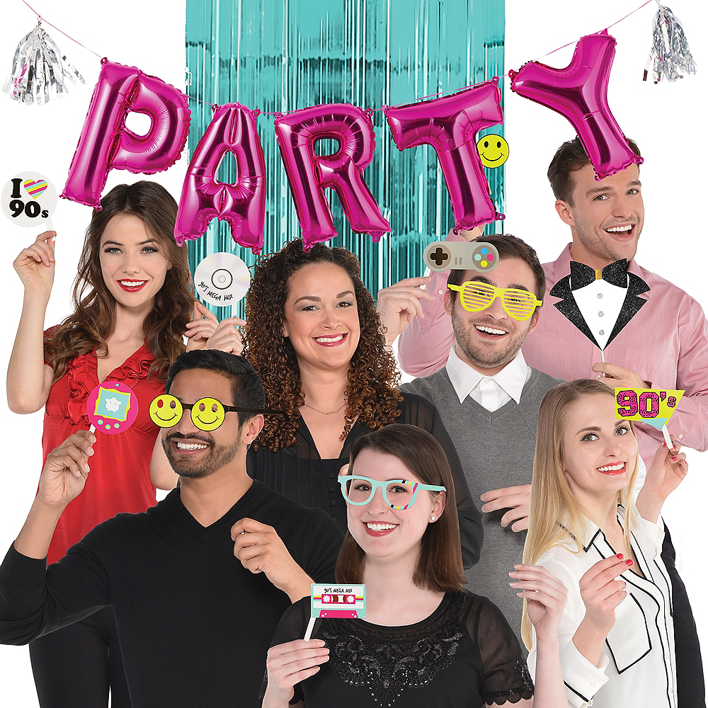 90s Party Photo Booth Kit Image #1