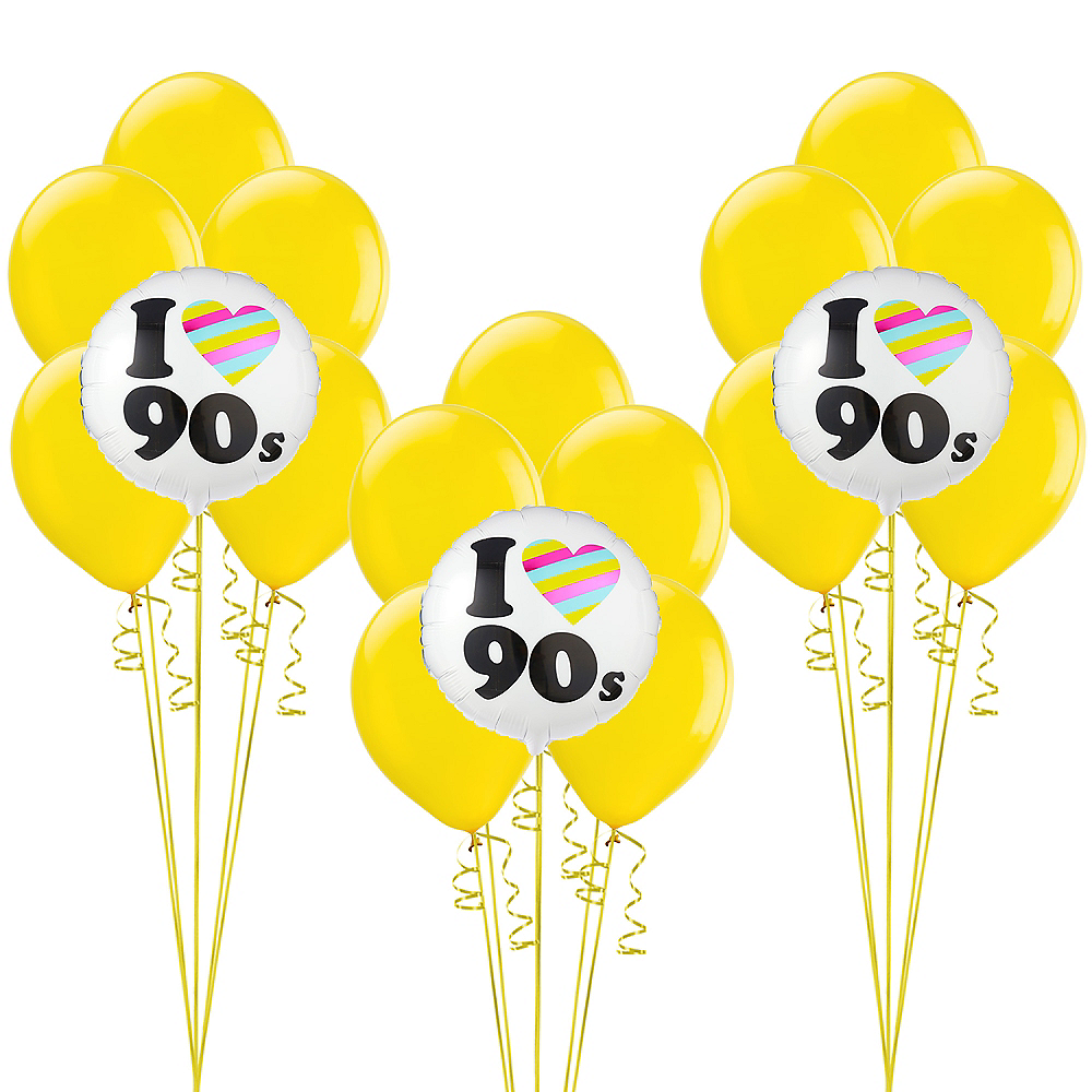 90s Party Balloon Kit Image #1