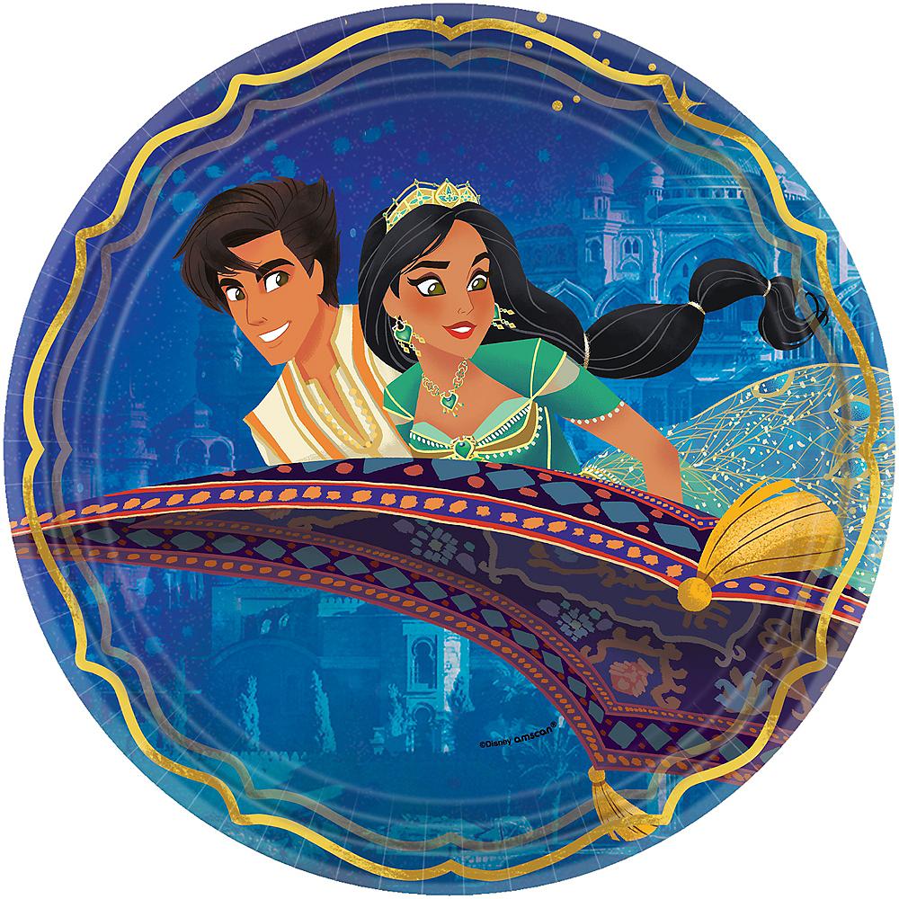 Aladdin Lunch Plates 8ct Image #1
