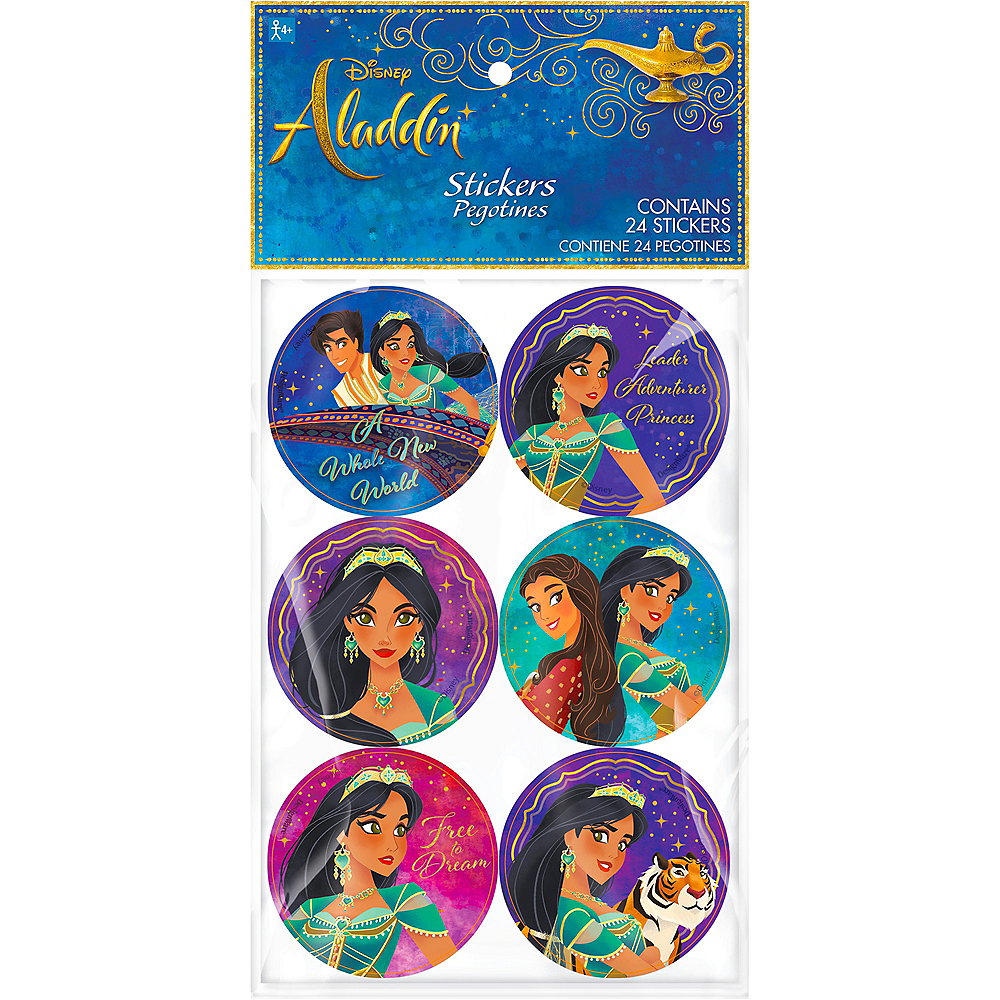Nav Item for Aladdin Stickers 4 Sheets Image #1