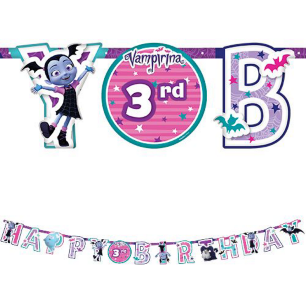 Vampirina Party Kit for 8 Guests Image #10
