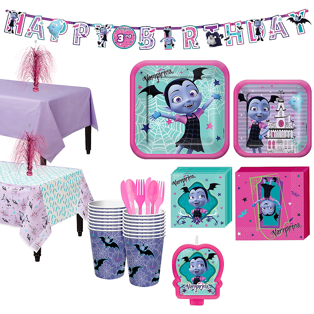 Vampirina Party Kit for 16 Guests Image #1