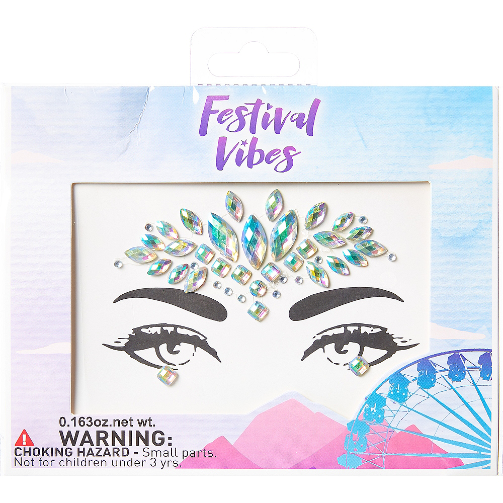 Festival Vibes Body Jewelry 43pc Image #1