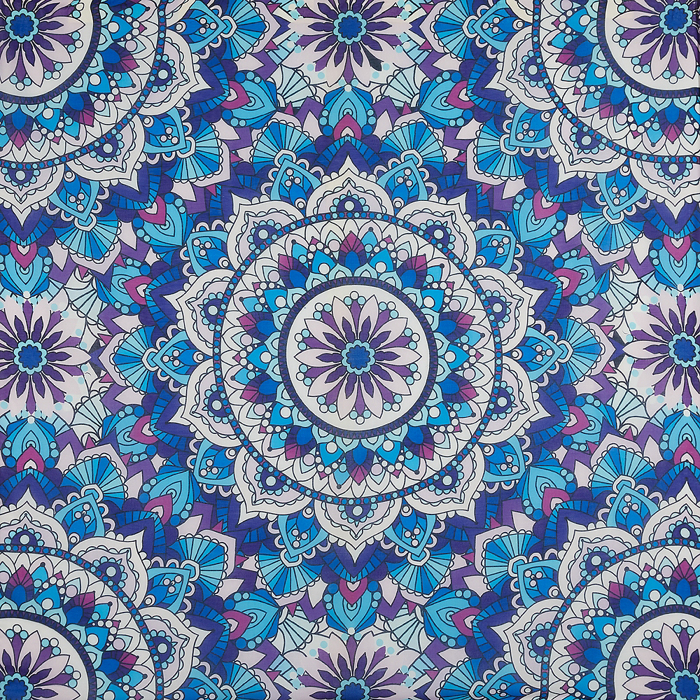 Festival Vibes Mandala Tapestry Image #1