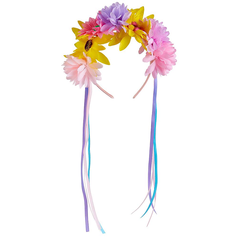 Festival Vibes Flower Headband Image #1