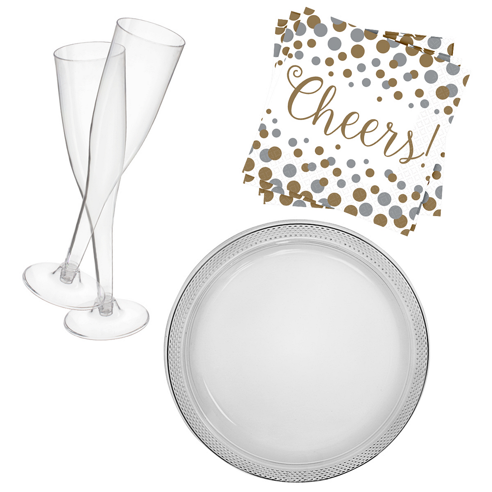 Champagne Cocktail Party Kit for 20 Guests Image #1