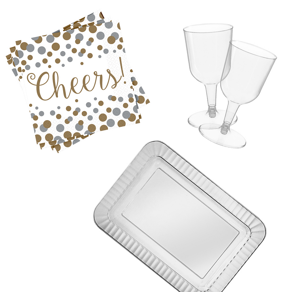 Wine Party Kit for 32 Guests Image #1