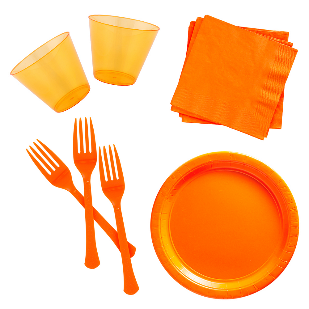 Orange Cocktail Party Kit for 100 Guests Image #1