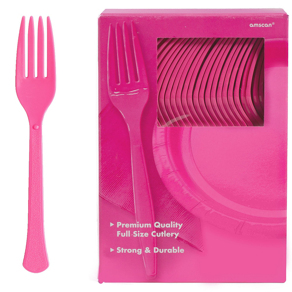 Bright Pink Cocktail Party Kit for 100 Guests Image #4