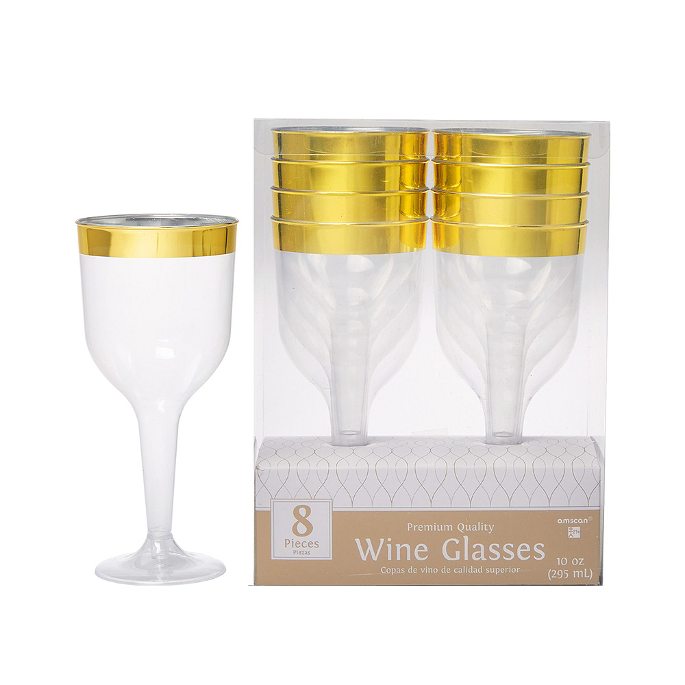 Gold Wine Party Kit for 16 Guests Image #3