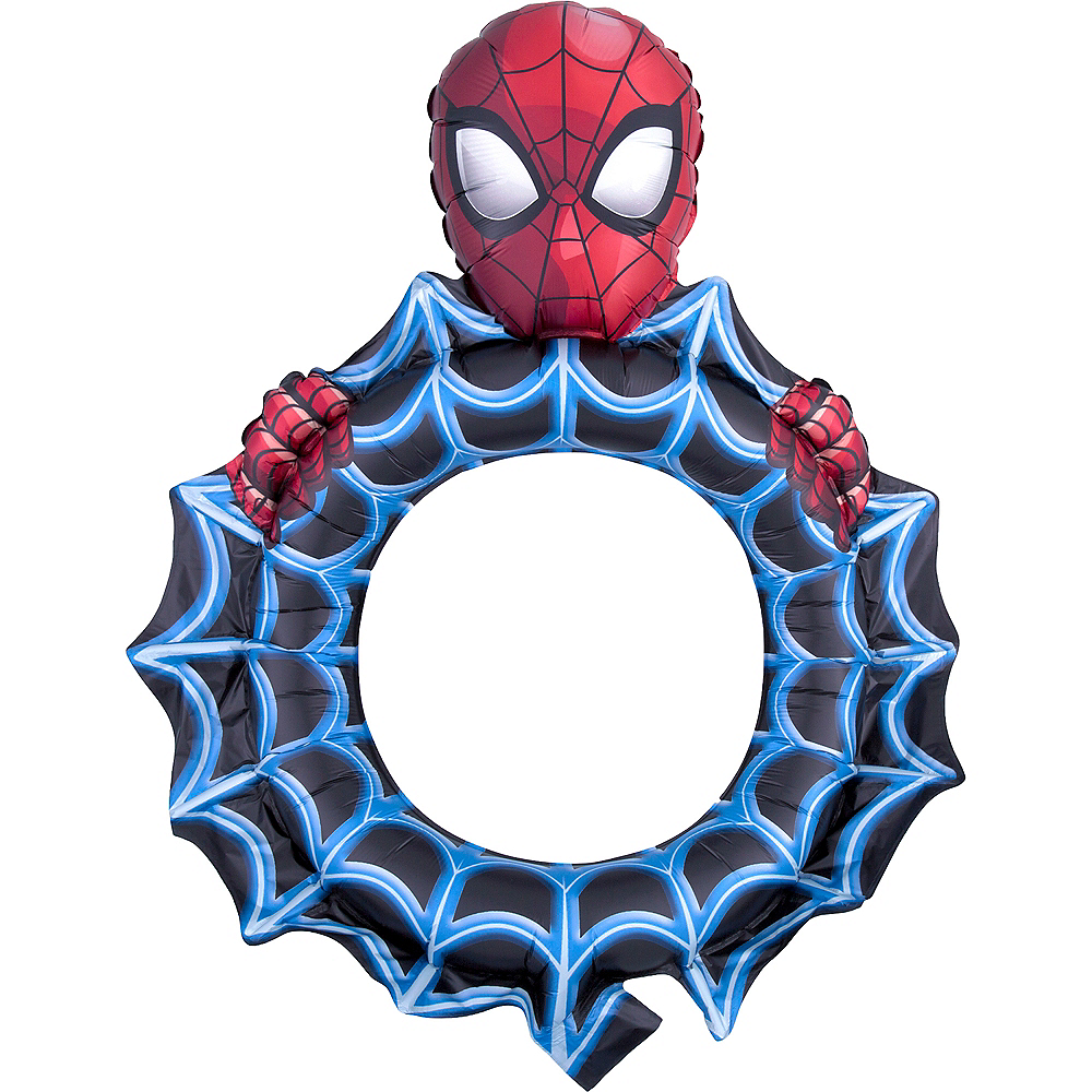 Giant Spider-Man Cutout Balloon Image #1