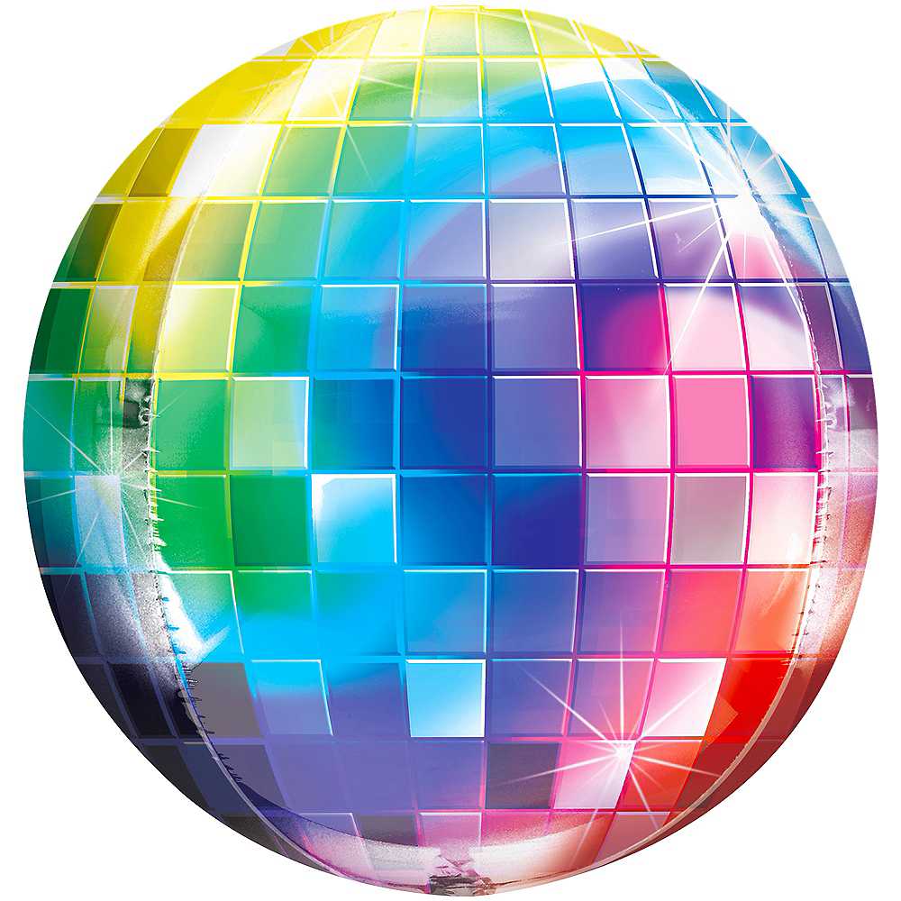 Nav Item for Disco Ball Balloon - Orbz Image #1
