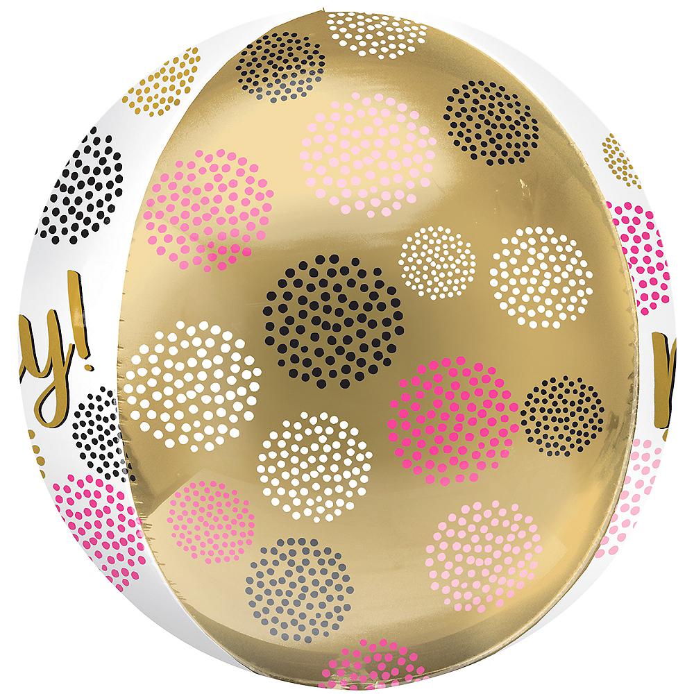 Happy Birthday Gems Balloon - Orbz Image #2