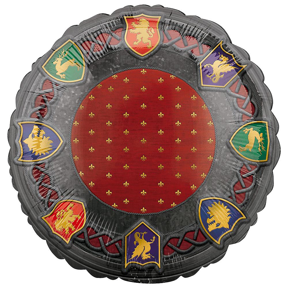 Metallic Medieval Sigils Balloon Image #1