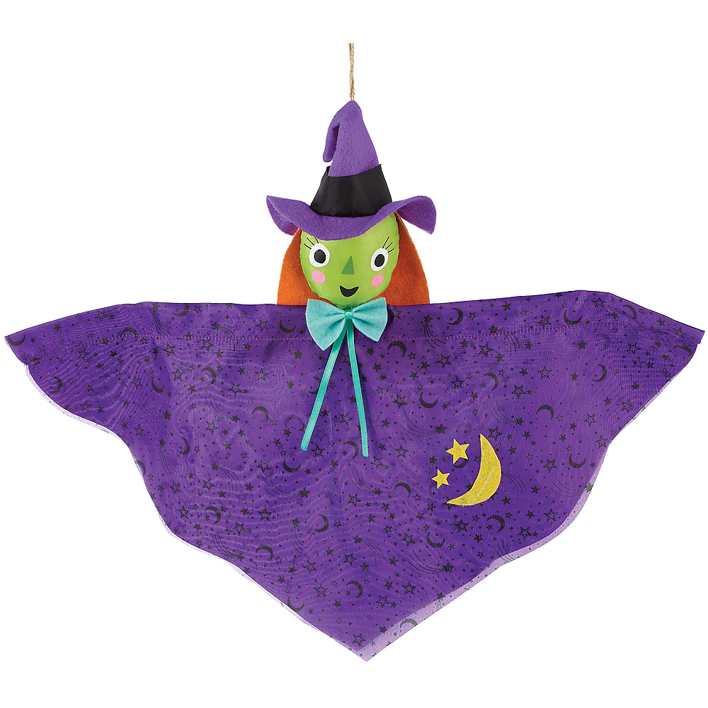 Mini Friendly Witch Decoration Image #1