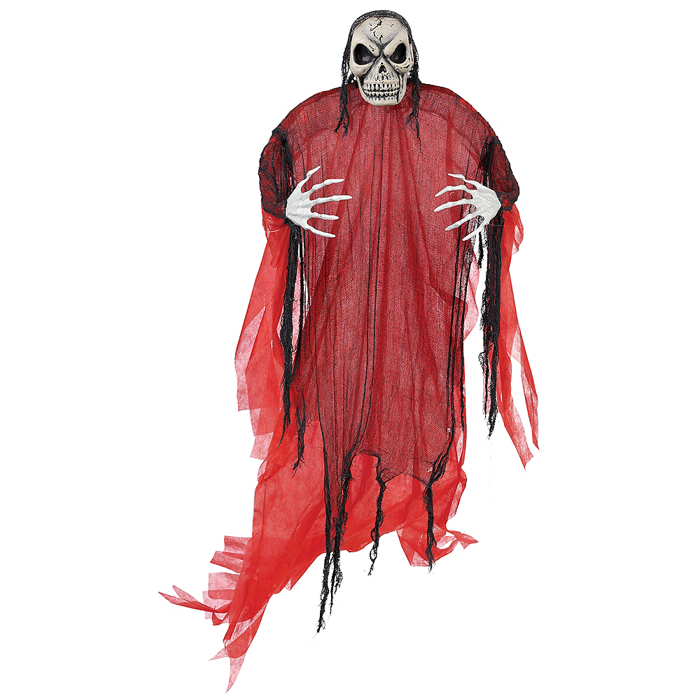 Giant Red Reaper Decoration Image #1