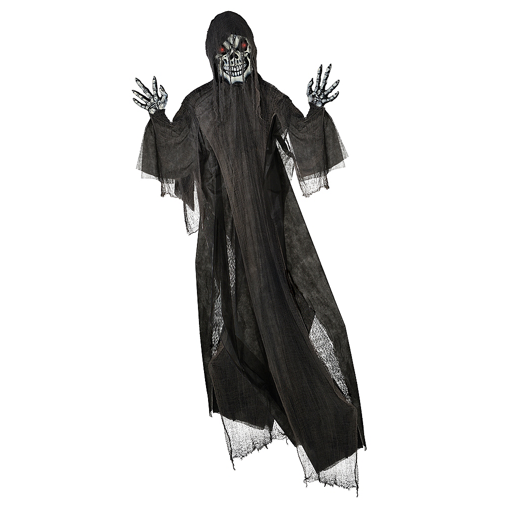 Light-Up Giant Grim Reaper Decoration Image #1