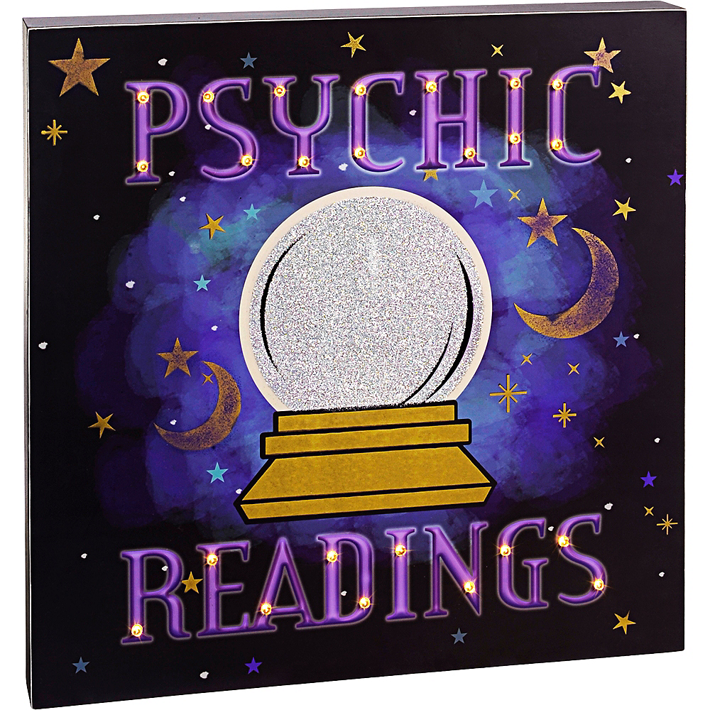 Light-Up Psychic Readings Sign Image #1