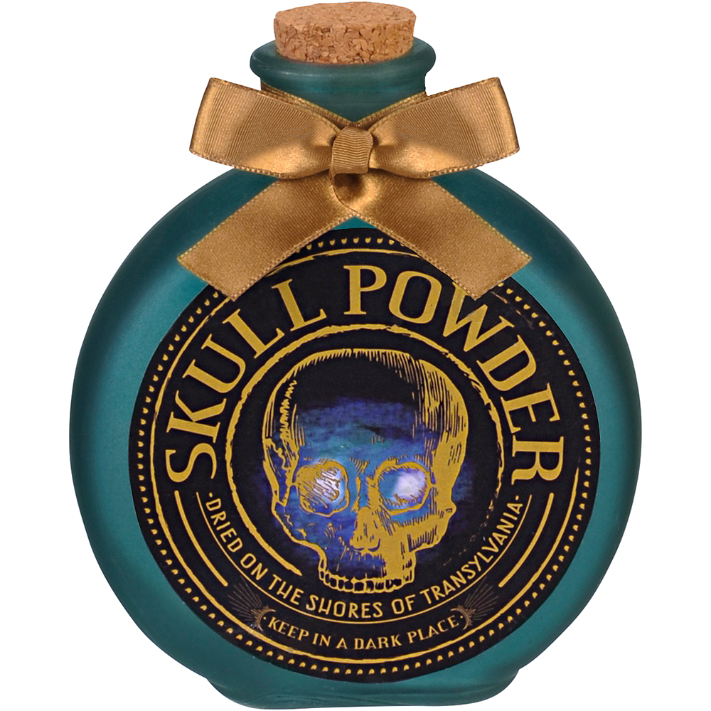 Skull Powder Decorative Bottle Image #1