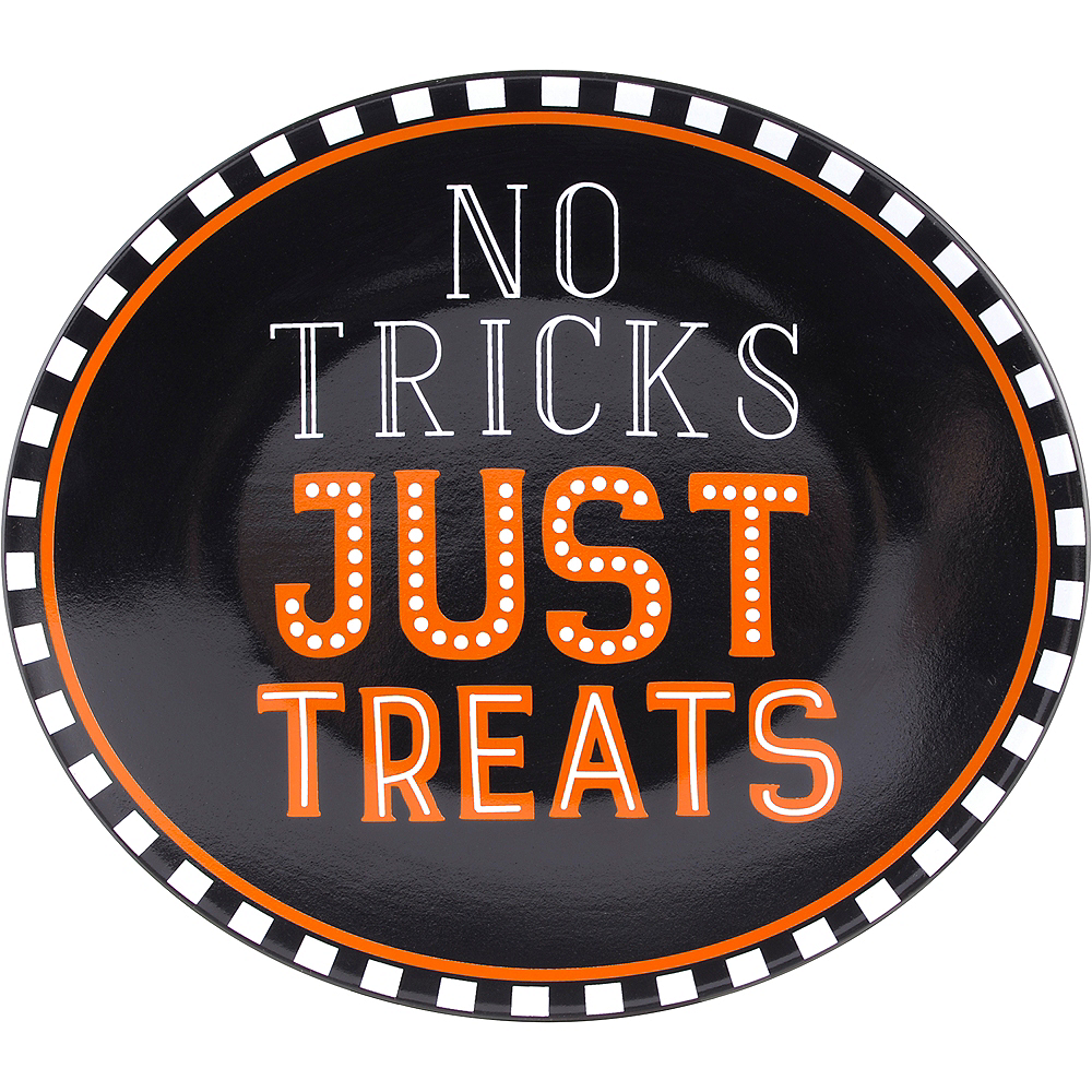 No Tricks Just Treats Platter Image #1