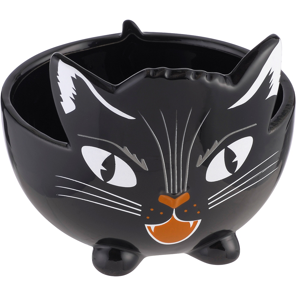 Black Cat Candy Bowl by Party City