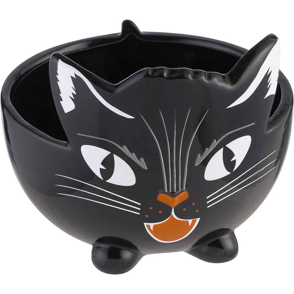 Black Cat Candy Bowl Image #1