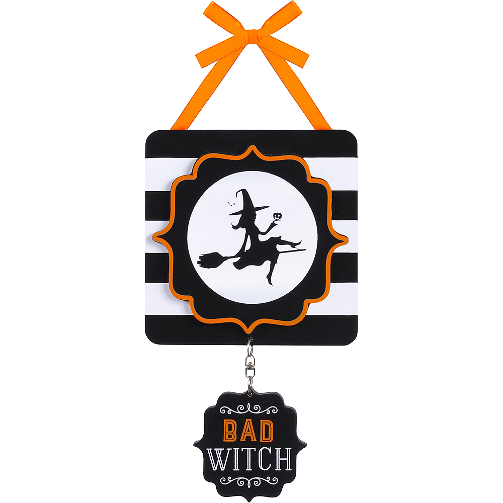 Good Witch Bad Witch Sign Image #1