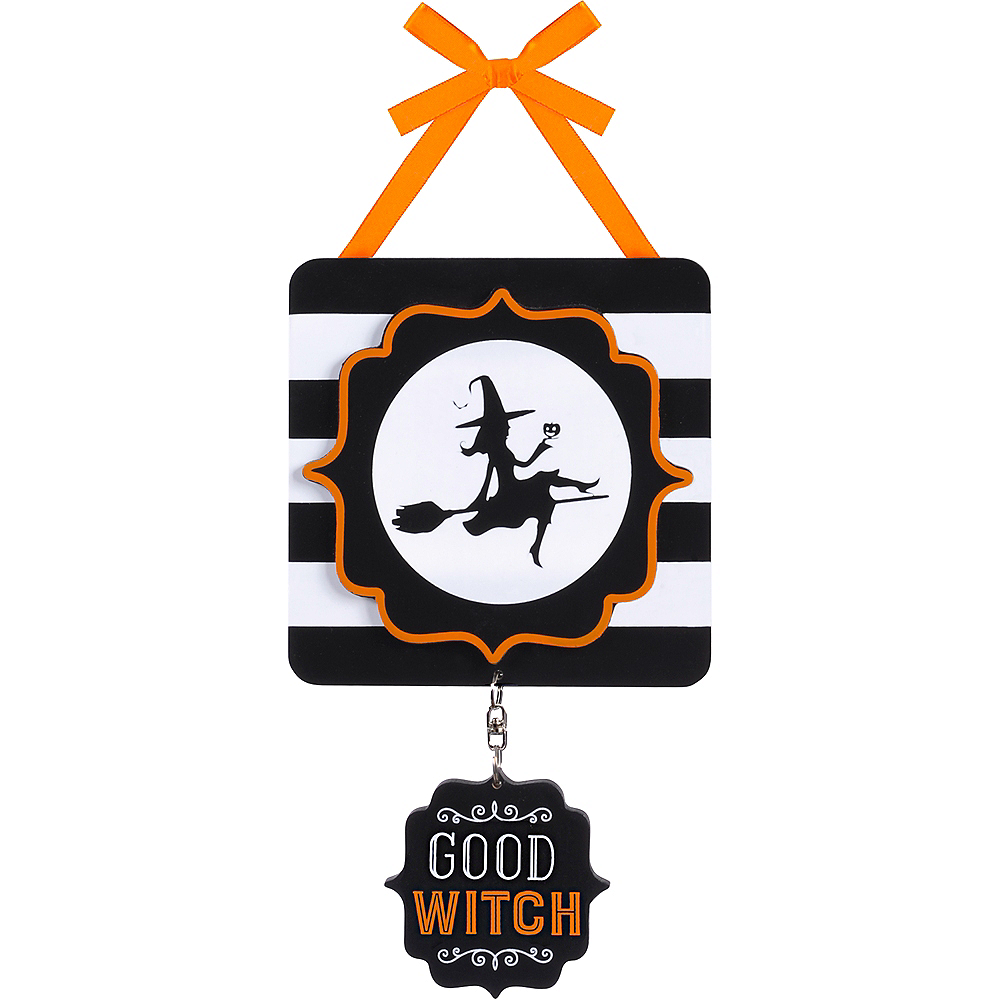 Good Witch Bad Witch Sign Image #2