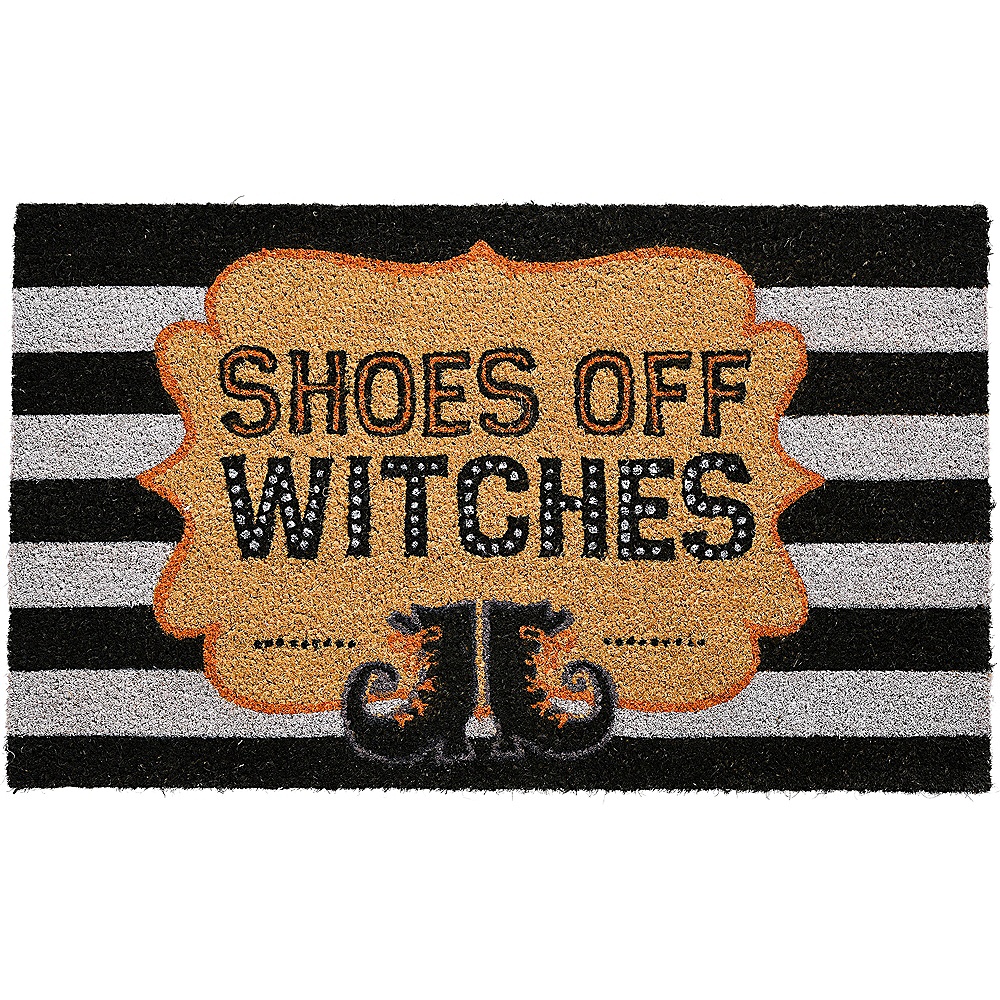 Shoes Off Witches Doormat Image #1