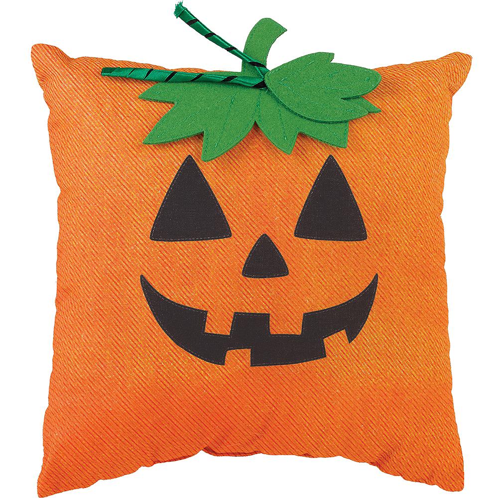 Jack-o'-Lantern Pillow Image #1
