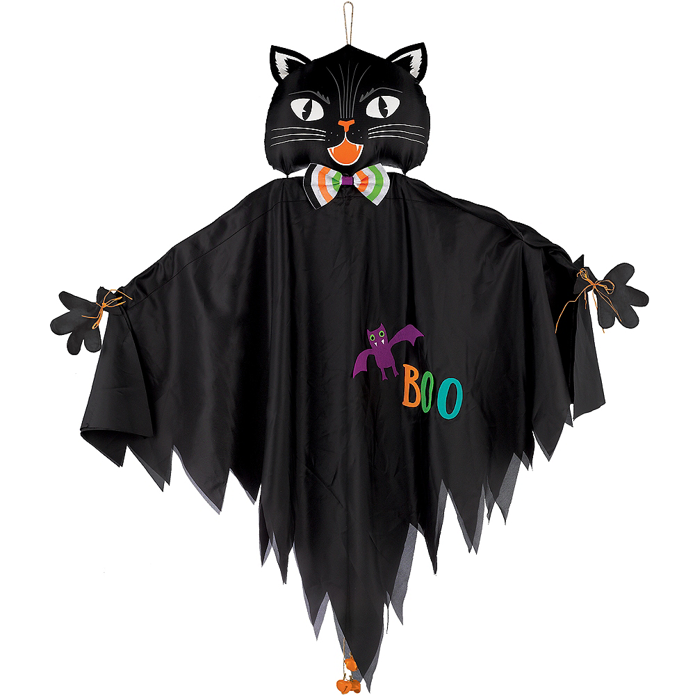 Friendly Black Cat Decoration Image #1