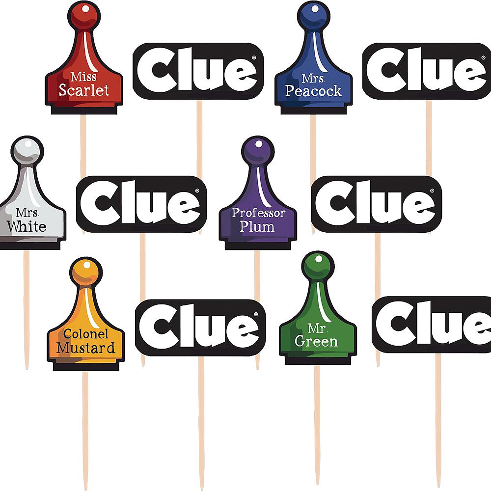 Clue Cupcake Picks 36ct Image #1